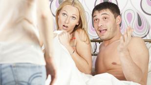 Bejött a gyerek szex közben, és egyéb kínos helyzetek