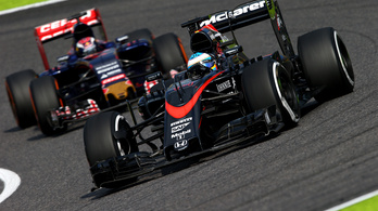 Alonso a Honda-főnök előtt alázta csapatát