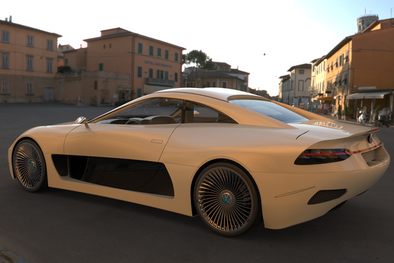 Volkswagen Coupe IMERA Concept