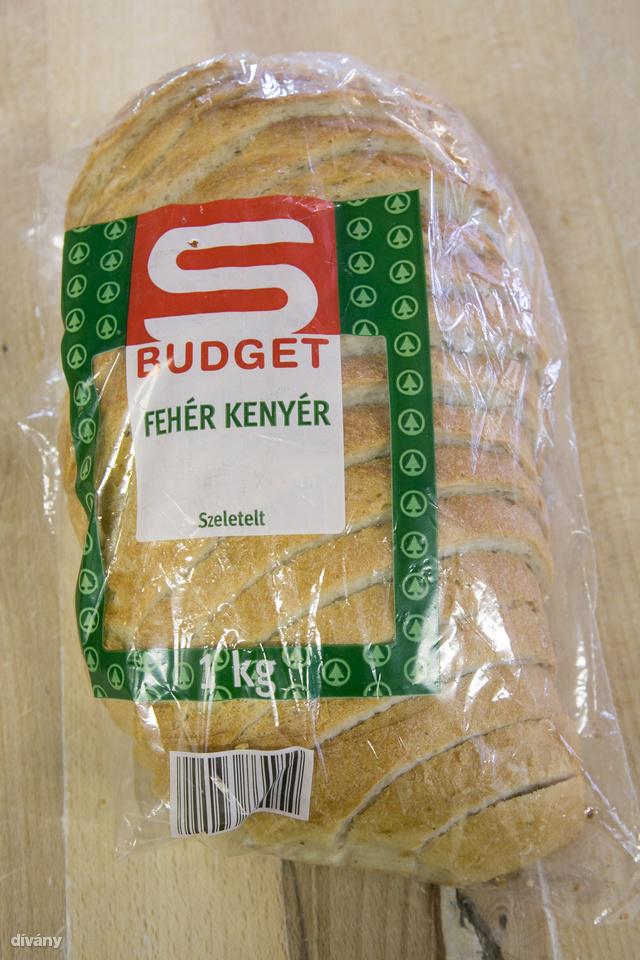 Spar S-budget fehér kenyér