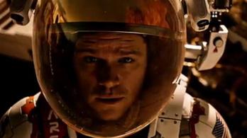 A marsi az űrhajósokat ünnepli
