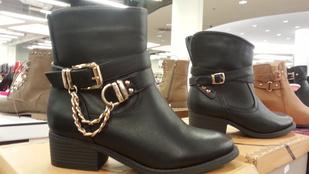 Őszi cipők: 10 ezer alatt is bevásárolhat