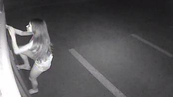 A nap lúzere az a nő, aki ellopta egy dohánybolt kameráját, de egy másik felvette az akciót