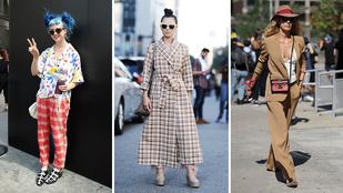 Nézze meg, hogy mi az utcai divat New Yorkban és Londonban!