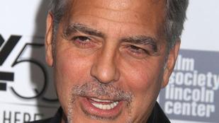 Amal Clooney csodás, George Clooney arca meg vicces