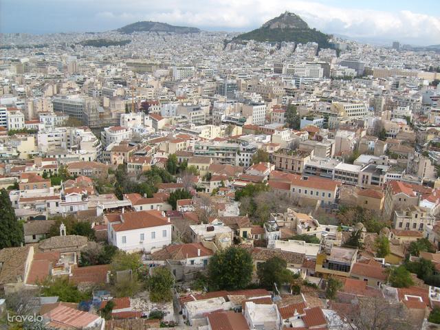 Athén az Akropoliszról