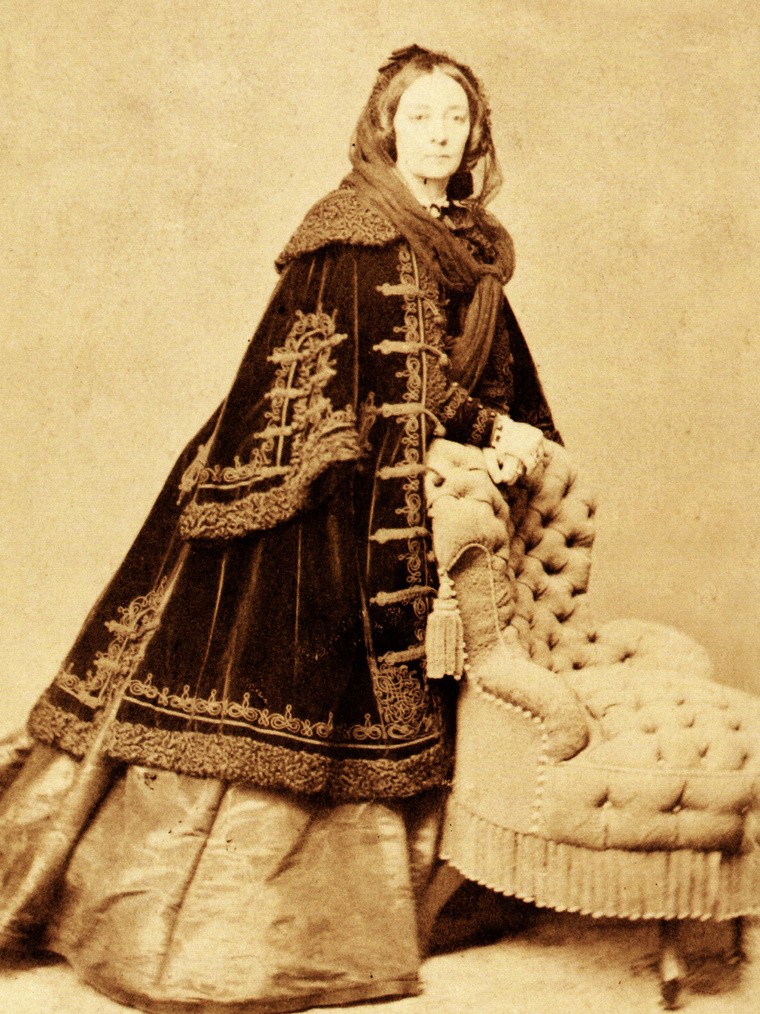 Batthyányi Lajosné miniszterelnökné gr. Zichy Antonia (1816 –1888)