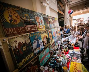 Gozsdu Antik Market: zsibvásár novemberig