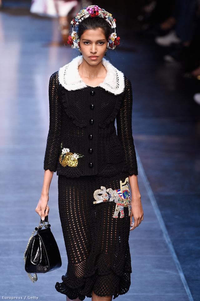A Dolce & Gabbana sem hagyta ki a fejhallgatót a szezonban.