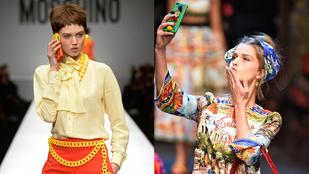 A Dolce & Gabbanának is megtetszett a Moschino taktikája