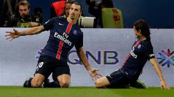Ibrahimovic kettőből lő be egy büntetőt, de így is ő a legjobb