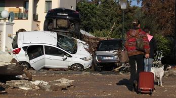 17 halott, 70 ezer lakásban áramszünet: így söpört végig a Riviérán az árvíz