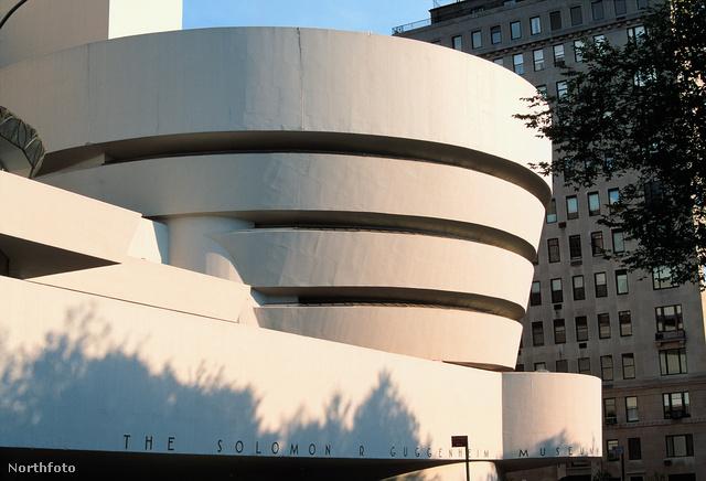 A Guggenheim Múzeum New Yorkban.