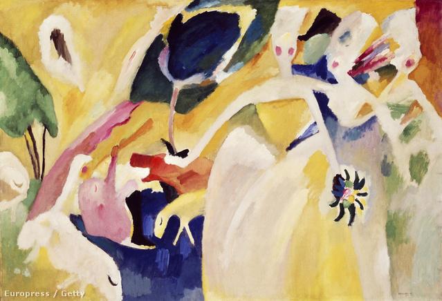 Kandinszkij, Miró vagy Klee munkáit is megnézheti az online tárlaton.