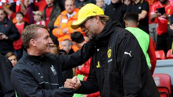 Liverpool: jön az új edző, Rodgers 10 millió fonttal lép