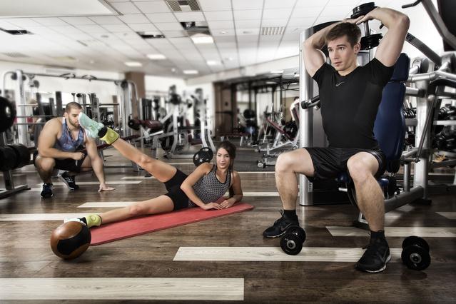 Ez a Team Fitness a Csillagvár üzletközpontban.