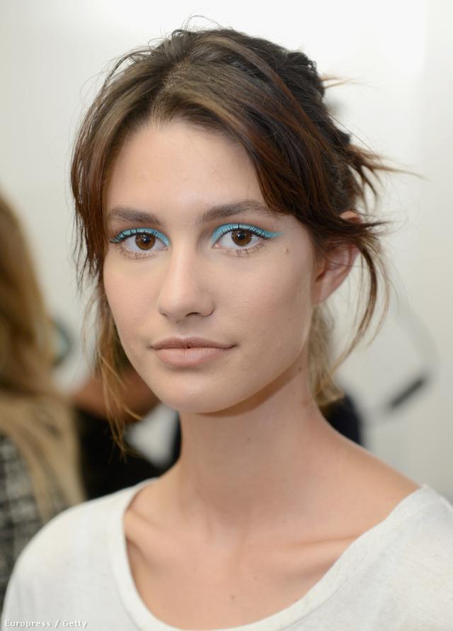 Jenny Packham szerint a matt hatású, retrós színek lesznek divatban.