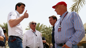 Bernie zabos, nem Toto Wolff dönti el, kinek ad motort a Mercedes!