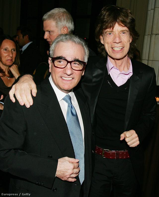Martin Scorsese és Mick Jagger