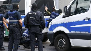 Iszlamista terroristákat fogott el a német rendőrség