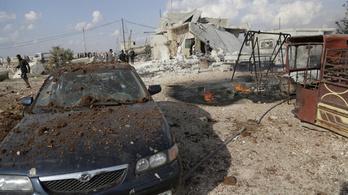 Orosz segítséggel támadja a szír kormány az ellenzéket