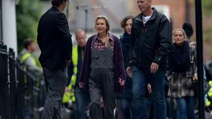 Nincs megállás: Colin Firth is feltűnt a Bridget Jones-film forgatásán