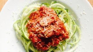 Cukkini spagetti, csak hogy csavarjunk rajta egyet...