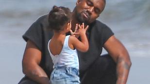 Kanye West két éves lánya szétvásárolta magát apja iPadjén