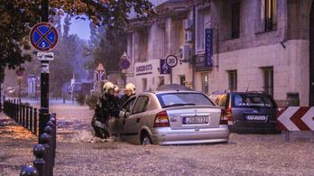 Riasztást adtak ki: özönvíz jöhet Dél-Magyarországon