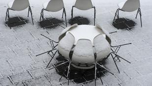 Unja az esőt? Semmi gond, estére havazni fog a Mátrában!