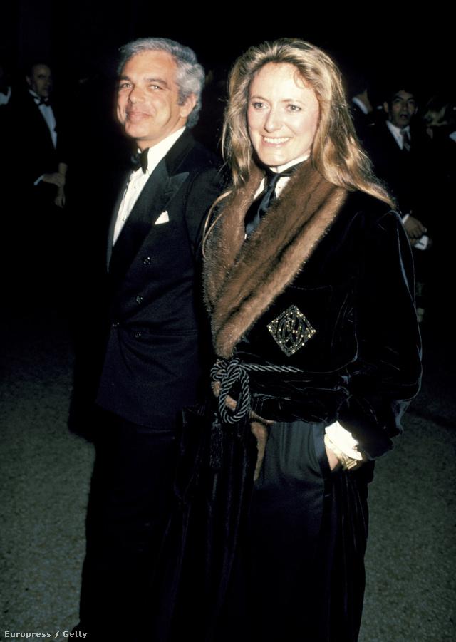 1984-et írunk: itt már húszéves házasok feleségével, aki recepciósként dolgozott akkor.