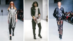 Farkas Franciska is bemotorozott a Budapest Fashion Weekre