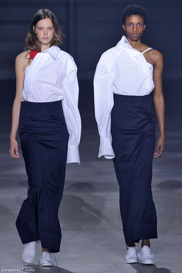 Az egyik kedvenc fiatal tervezőnk, Jacquemus így értelmezte újra a fehér ingeket.