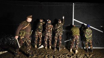 Meggyőzte a kerítés a horvátokat, nem jönnek a menekültek