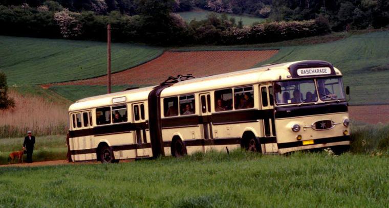 A Henschel 160 USL-G Luxemburgban