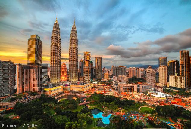 Petronas-Towers, Kuala Lumpur, Malajzia