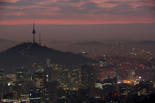 N Seoul Tower, Szöul, Dél-Korea
