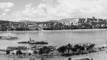 Csodálatos panorámafotó a 60 évvel ezelőtti Duna-partról
