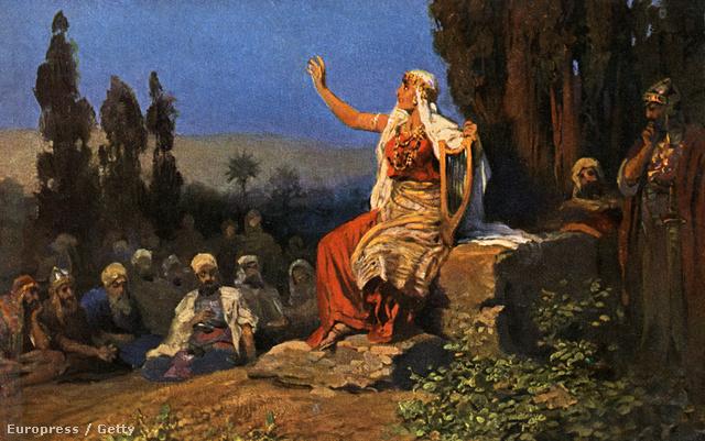 A bibliai Debóra prófétanő