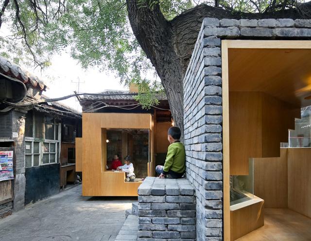 """A """"Micro Yuan'er Project"""" néven futó kis házakat a Standard Architecture építészeti tervezték a történelmi Dashilar negyedbe."""