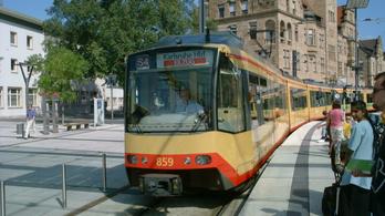 Sínen van a szegedi tramtrain