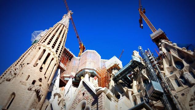 Kolléganőnk tavaly készült fotója az építkezésről
