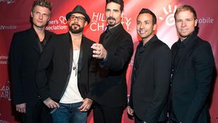 A Backstreet Boys adott egy minikoncertet, videónk van róla