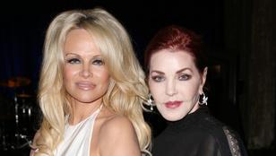 Pamela Anderson és Priscilla Presley közös képénél ma nem tudunk ijesztőbbet