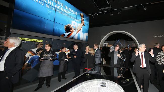 Megnyílt Németország focimúzeuma