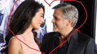 Amal Alamuddin teljesen elcsavarta Clooney fejét