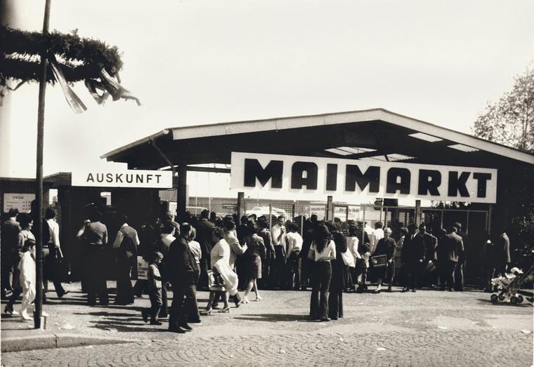 Így nézett ki a bejárat a hetvenes években