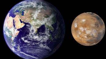 Miért nagyobb a Föld a Marsnál?
