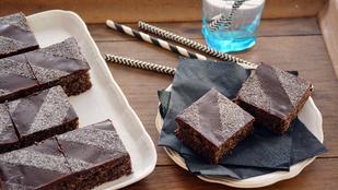 Pénteki süti: málnás-csokis-mákos kocka