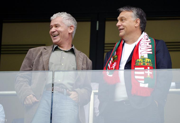 Polt Péter legfőbb ügyész és Orbán Viktor miniszterelnök.